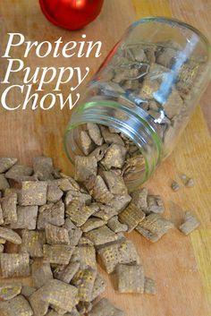 Protein Puppy Chow | www.PancakeWarriors.com