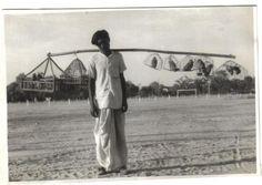 Bird Seller - Ambala Haryana India 1945 Source: ebay POSTED BY OLD INDIAN PHOTOS…