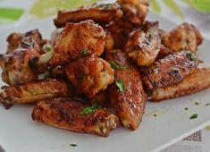 Aripioare la cuptor Tandoori Chicken, Chicken Wings, Meat, Ethnic Recipes, Food, Kitchen, Meal, Eten, Meals