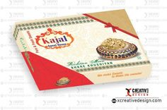 Free Sweet Box Design or Mithai Box cdr file - XCreativeDesign