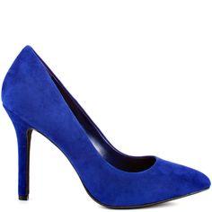 Heels I Love Adeni - Indigo Purp Suede Jessica Simpson Blue Stilettos, Hot Pink Heels, Blue High Heels, Silver High Heels, Purple Heels, Yellow Heels, Purple Suede, Sexy High Heels, Pump Shoes