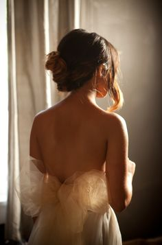 robe mariée wedding dress bride coiffure