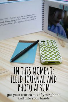 In This Moment: Field Journal and Photo Album :: It's a photography meets mindfulness ecourse that arrives in your mailbox instead of getting lost in your inbox.