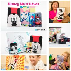 Show your #DisneySide! Enter @DecalGirl Official Disney Skin Giveaway at Focused on the Magic.com
