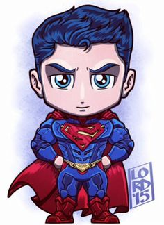 Chibi Superman (Arkham Knight) by Lord Mesa Chibi Superhero, Chibi Marvel, Marvel Dc Comics, Chibi Superman, Superman Drawing, Superman Art, Vision Marvel, Logo Super Heros, Supergirl