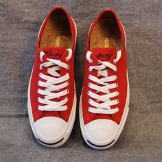 Jack Purcell Red Woven Tape Sneaker – SAULT New England