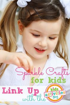 Sparkle Crafts for Kids ~ Add Yours - Kids Activities Blog