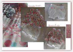 robe, bloomer assorti : Mode Bébé par daniellemargotcouture