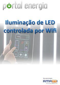 Iluminação de LED controlada por Wi-fi
