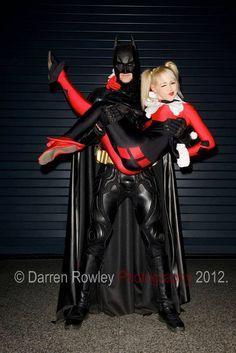 Harley and Batman #Cosplay