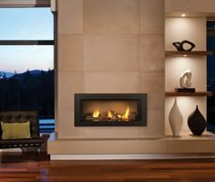 Asymetrical plan with ability to have storage in hearth.  Use drywall; not stone.