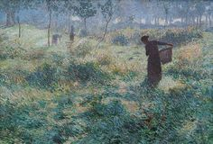 """suonko: """"September Morning by Emile Claus """""""