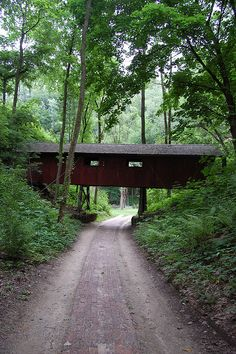 Heritage Canyon Bridge in Fulton, IL, by illinoislincolnhighway, via Flickr