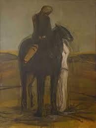 karl weschke landscape paintings - Google Search David Hockney, Painting People, Landscape Paintings, Horses, Artists, Sculpture, Google Search, Landscape, Sculptures