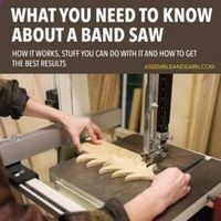 Wood Profit - Woodworking - Cool Woodworking Tips - Introduction To A Band Saw - Easy Woodworking Ideas, Woodworking Tips and Tricks, Woodworking Tips For Beginners, Basic Guide For Woodworking diyjoy.com/... #coolwoodwork #woodworkingforbeginners Discover How You Can Start A Woodworking Business From Home Easily in 7 Days With NO Capital Needed! #woodworkingtips