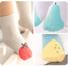 6-12 Months Sock Ons Clever Little Things That Keep Baby Socks On! 2 pack TWIN PACKS