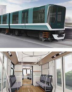 神戸新交通六甲アイランド線に新形車両を導入