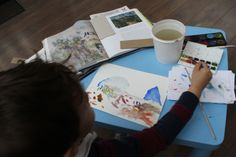 Art class on Cézanne's series of  paintings 'Mont Sainte-Victoire'  - at 3 House Club, London