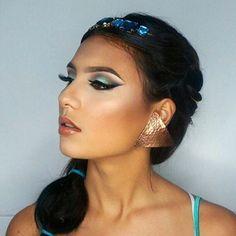 Loving this Princess Jasmine-inspired makeup by @jasmijniris using our Wicked gel liner. // #sigmabeauty