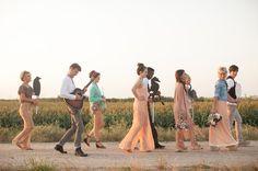 A Wedding in the Wheat Fields