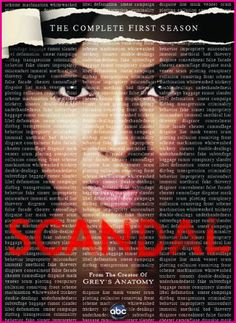 Great show acted brilliantly by Kerry Washington created & written brilliantly by Shonda Rhimes,