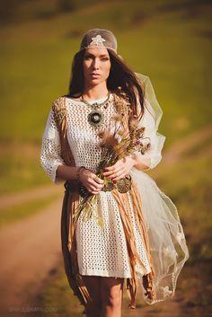 Boho wedding by shaulskaya.com/