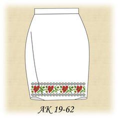 Заготовка к юбке АК 19-62 Д