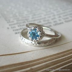 Blue Topaz - wear it for truth, wisdom and clear communication!