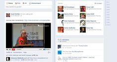 Stream in Facebook eingebettet mit livestream.com