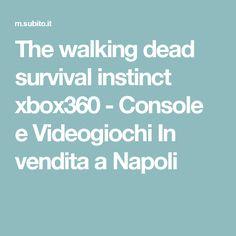 The walking dead survival instinct xbox360 - Console e Videogiochi In vendita a Napoli