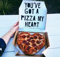 you've got a pizza my heart