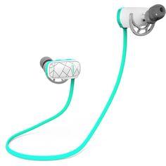 Amazon.com: Hunputa Wireless Sports Bluetooth4.0 Headphones Noise... ($15) ❤ liked on Polyvore featuring accessories, tech accessories, ear bud headphone, earphones earbuds, sports headphones, earbud headphones and headphones earbuds