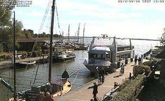 Live camera Wustrow / Hafen Ostseebad Wustrow, Germany.