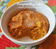 Pumpkin Mug Cake