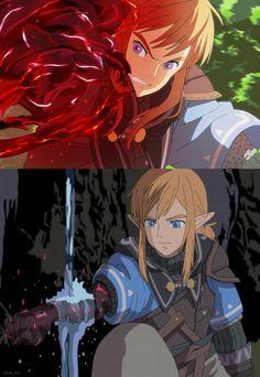 The Legend Of Zelda, Legend Of Zelda Memes, Legend Of Zelda Breath, Ben Drowned, Game Character, Character Design, Image Zelda, Botw Zelda, Link Art