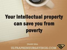 Your intellectual property can save you from poverty