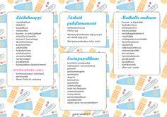 Konmari, Helsinki, Getting Organized, Calendar, Barn, Bullet Journal, Printables, Organization, Education