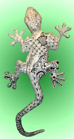 Zentangle Gecko