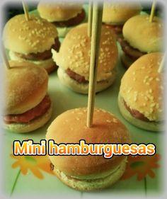 Mini hamburguesitas