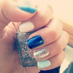 blues and sparkle