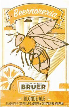 Beernorexia: Estado de Animo Placentero al Beber Cerveza!!! Una Cerveza de temporada con baja graduacion Alcoholica elaborada con Miel de Flor de Azahar y rayadura de Naranja
