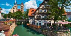 HRS Deals Stuttgart Esslingen am Neckar: Hotel the niu Timber ab 39 Euro Baden Germany, Stuttgart Germany, Design Hotel, Moorish Revival, Visit Germany, Das Hotel, Night Life, Places To See, Wanderlust