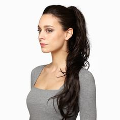 'Glam' clip-in #ponytail by HotHair will create a ultra-glam look & open your eyes to endless possibilities