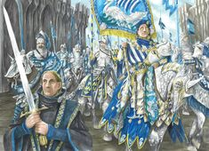 Prince Imrahil of Dol Amroth by AbePapakhian on DeviantArt