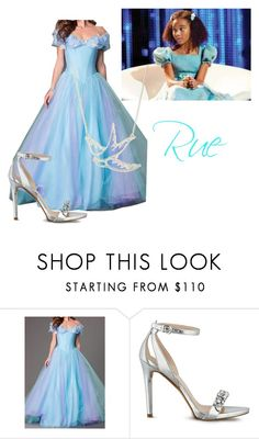 """""""Rue from the hunger games"""" by meggykl-percy-jackson ❤ liked on Polyvore featuring GUESS"""