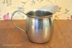 A personal favorite from my Etsy shop https://www.etsy.com/ca/listing/484392937/vintage-steel-creamer