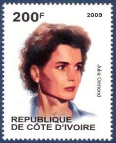2009 - Republique de cote d'ivoire English actress Julia Ormond