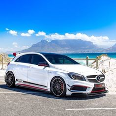 made Picture & Owner : -Swiss made Picture & Owner : - <<<Listen to this Wild Italian Battle in London! Mercedes Hatchback, Mercedes Benz Maybach, Hatchback Cars, Classe A Amg, Mercedes Wallpaper, Subaru, Vw Gol, Mercedez Benz, Toyota Cars