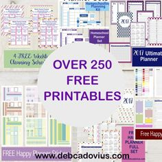 All of my freebies can be found in one easy place!