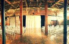 McKinney Historic Flour Mill - for the bride looking for rustic, this Dallas #Wedding is a perfect fit.